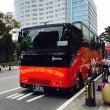 福岡で観光バスに乗り…