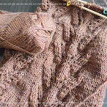 編み物の楽しさ再確認…