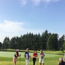 ゴルフと日焼けケア✨
