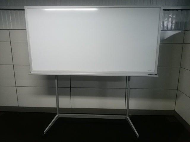 中古コクヨ デザインホワイトボード W1800 脚付き