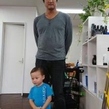 初めての散髪!☆