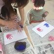 手形アート「みのむし…