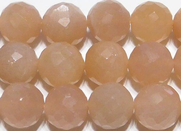 オレンジムーンストーンミラーボール8mm