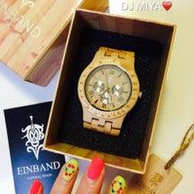 木製の #腕時計 が…