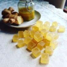 ジンジャーシロップの琥珀糖 作り方