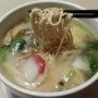 礼華の豆腐麺で、ブー…