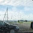 【雨でも視界クリア!…