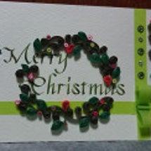 クリスマスカード、着…