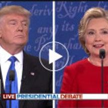 アメリカ大統領選の色
