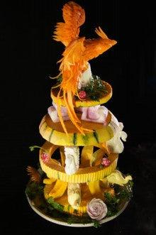 野菜のタワー