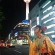 夜の京都タワー~(o…