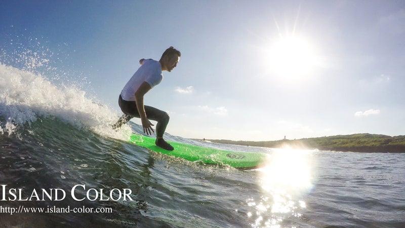 オトコ旅^^美ら島でサーフィンチャレンジ_3