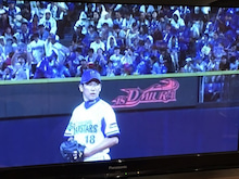 高橋尚成の画像「引退試合!」
