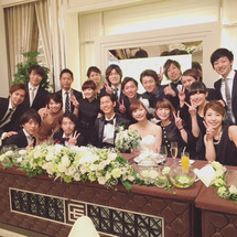大橋君の結婚披露宴