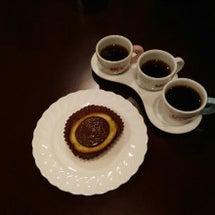 コーヒーのスイーツの…