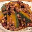 カボチャと雑穀の甘辛…