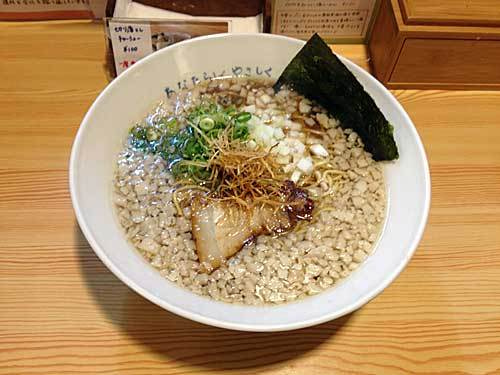 金澤流麺 らーめん南 20161003-1