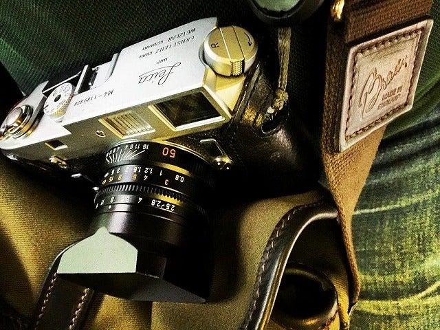 ブレディのカメラバッグ