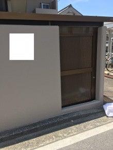 ■ゴミ置場ハンガードア新設工事