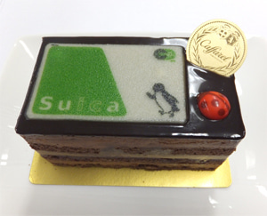 2016 suica  クリスマスケーキ
