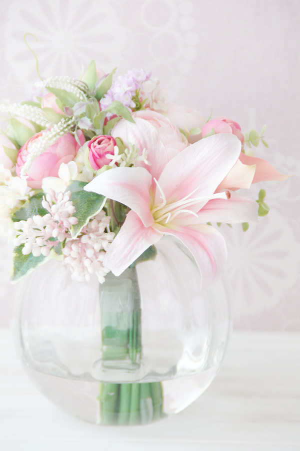 造花のブーケ