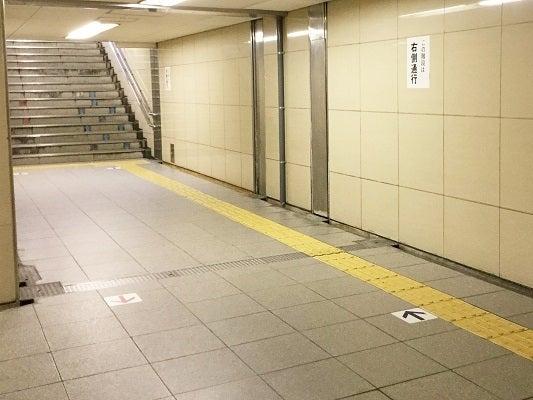 四つ橋線(3)階段が見える