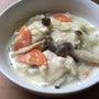 白菜と鶏胸肉の豆乳ク…