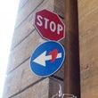 フィレンツェの標識ア…
