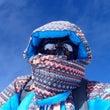8000mのブルー