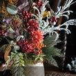 造花で、秋を表現。玄…
