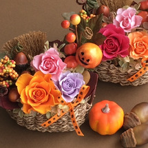 秋の訪れとハロウィン…