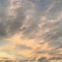 昨日の空…
