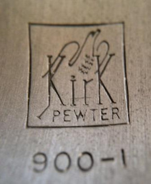 Kirk Stieff pewter1