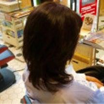 デジタルパーマ&秋色…