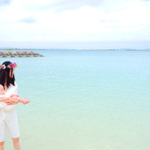 浜比嘉島で新たな門出…