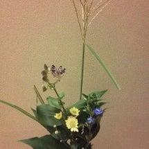 秋の花をお届けです …