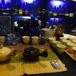 Bar で 日本茶