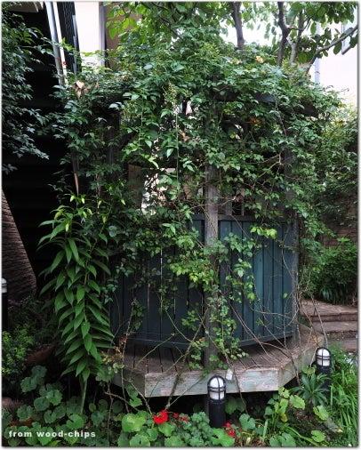 ガゼボ バラの庭