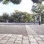 公園にて一休み。