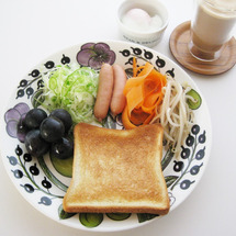 朝食&お昼