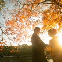 紅葉の奈良和装前撮り…