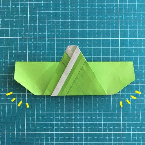 55miryon流☆折り紙でチマチョゴリを折る方法