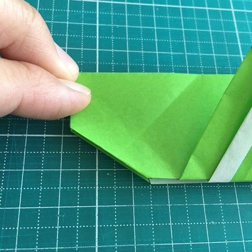 54miryon流☆折り紙でチマチョゴリを折る方法