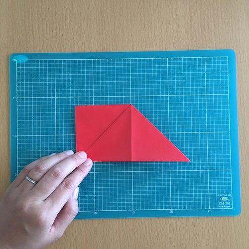 08miryon流☆折り紙でチマチョゴリを折る方法