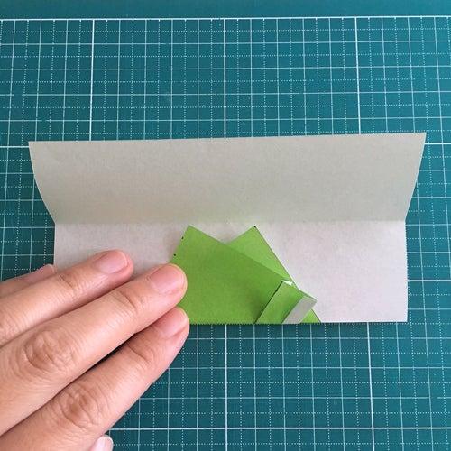 50miryon流☆折り紙でチマチョゴリを折る方法