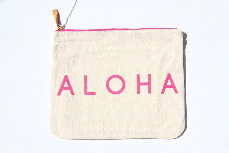 ALOHAアロハ・パイナップルデザインのバッグ