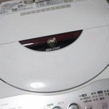 洗濯機が・・・