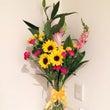 朝活に加わえた花の管…