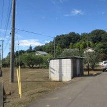 野立て太陽光建設地