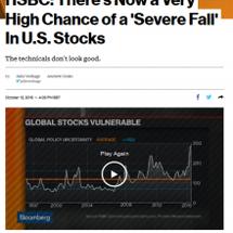 株大暴落の非常警報「…